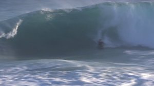High surf hit Newport Beach's The Wedge on Oct. 6, 2014. (Credit: KTLA)