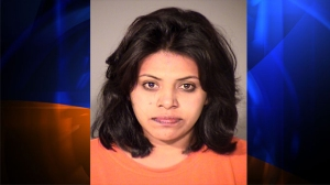 The Ventura County Sheriff's Department provided this photo of Genoveva Nunez-Figueroa, who was arrested on Oct. 19, 2014, after allegedly illegally entering a Thousand Oaks residence through its chimney.