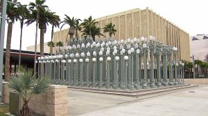 The Los Angeles County Museum of Art is seen in this file photo. (Credit: KTLA)