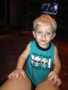 The family of a 1-year-old boy who was attacked by a dog on Nov. 14, 2014, in Riverside County, provided this photo of him prior to the incident.