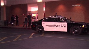 Police responded to a Tustin Kohl's after a fight broke out at the store on Black Friday. (Credit: OnScene TV)