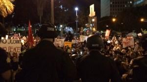 LAPD ferguson protest