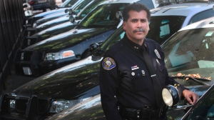 Robert Luna, seen here in 2012, has been named the new police chief of the Long Beach Police Department. (Credit: Bob Chamberlin/Los Angeles Times)