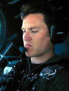 Michael Alsbury, the co-pilot for the test flight of SpaceShipTwo lost his life during a catastrophic failure on Friday, October 31, 2014. (Credit: From Scaled Composites via CNN Wire)