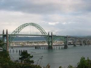 File photo of the Yaquina Bay Bridge (Credit: Kat Kellner/Flickr via Creative Commons)