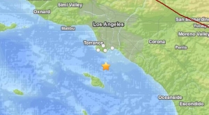 An earthquake struck off San Pedro Dec. 30, 2014. (Credit: USGS)