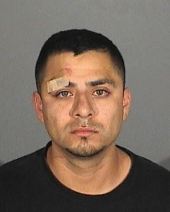 Ismael Soto, 28, was charged with felony DUI after a crash in Alhambra Sunday night. (Credit: Alhambra Police Department)