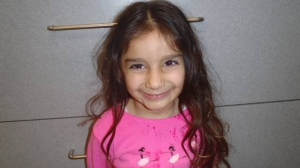 The  LAPD provided this photo of Audrey, a 3-year-old who was abandoned at the Grove on Dec. 20, 2014.
