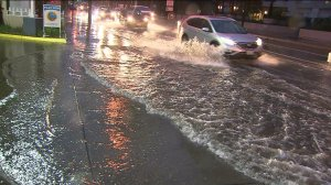 Southern California was hit by a powerful storm on Dec. 12, 2014. (Credit: KTLA)