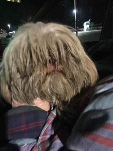 "This photo was posted on the ""Help For 'Ralphie' The Abandoned Christmas Pup"" donation website. He is pictured matted and dirty after being found in the parking lot of a Walgreen store in San Fernando on Dec. 24, 2014."