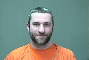 Dustin Diamond is shown in a booking photo from Dec. 26, 2014. (Credit: Ozaukee County Sheriff's Office)