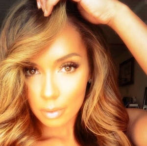 Stephanie Moseley is shown in a photo she posted on Instagram in November 2014.