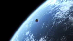 A giant asteroid is set to fly by earth on Jan. 26, 2015. (Credit: CNN)