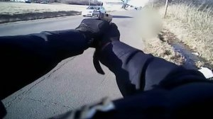 An Oklahoma police officer's body camera captured the fatal shooting of a man who ran after being patted down. (Credit: Muskogee Police Department)