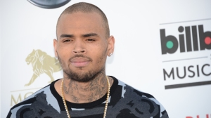 In this file photo, Chris Brown arrives on the red carpet at the 2013 Billboard Music Awards at the MGM Grand in Las Vegas, Nevada, on May 19, 2013. (Credit: Robyn Beck/AFP/Getty Images)