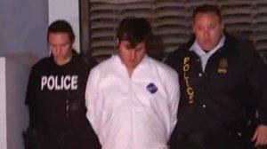 John Jonchuck Jr. is seen after his arrest. (Credit: CNN)