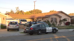 A 1-year-old boy was found fatally stabbed in a Ventura home on Jan. 2, 2014. (Credit: KTLA)