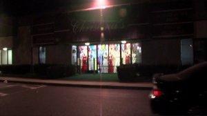 The incident occurred outside a Christina's Dress Shop in Chula Vista. (Credit: KGTV via CNN)