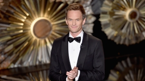 Host Neil Patrick Harris speaks onstage during the 87th Annual Academy Awards at Dolby Theatre on Sunday, Feb. 22, 2015, in Hollywood. (Credit: Kevin Winter/Getty Images)