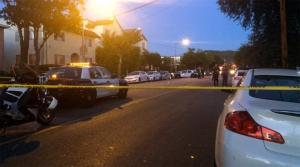Police were investigating the scene of a deadly hit-and-run crash involving a 4-year-old girl.