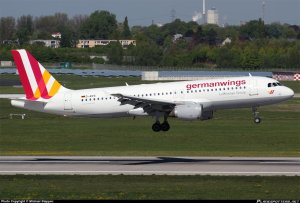 A picture of the Germanwings Airbus A320-200, tailnumber D-AIPX, that was involved in a crash in the French Alps on March 24, 2015. This photograph was taken April 16, 2014, in Dusseldorf, Germany. (Credit: Michael Stappen)