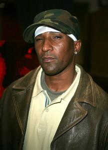"""Director Cle """"Bone"""" Sloan is pictured at a premiere for the HBO documentary film """"Bastards Of The Party,"""" about gang violence in L.A. Sloan was a key witness in a murder investigation involving rap mogul Marion """"Suge"""" Knight in 2015. (Credit: Chad Buchanan/Getty Images)"""