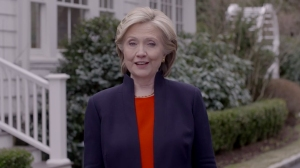 Hillary Rodham Clinton is seen in a screenshot from a video released by her presidential campaign on Sunday, April 12, 2015. (Credit: Ready for Hillary)