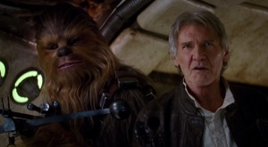"Harrison Ford is back as Han Solo in the newest ""Star Wars"" film."
