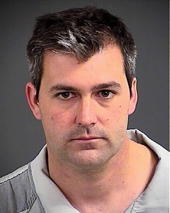 Michael Thomas Slager is shown in a booking photo  from the Charleston County Sheriff's Office on April 7, 2015.