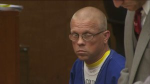 Ex-Torrance High School wrestling coach Thomas Joseph Snider on April 16, 2015, pleaded not guilty to charges in connection with alleged assaults on more than two dozen students. (Credit: KTLA)