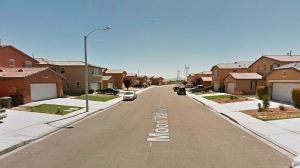 Homes along the 14400 block of Moon Valley Street in Victorville are seen in this photo taken from Google Maps.