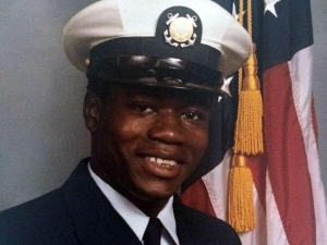 Walter Scott appears in his Coast Guard uniform in this undated photo. (Credit: Scott Family photo via CNN)