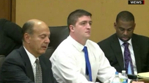 Cleveland police officer Michael Brelo was acquitted on May 23, 2015. (Credit: CNN)