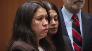 Lyvette Crespo is seen in court on Friday, May 29, 2015. (Credit: KTLA)