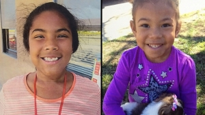 Photos of 8-year-old Isabel and 4-year-old Abigail were provided by the San Bernardino County Sheriff's Department.