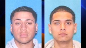 Fabian Cazares-Garcia, left, and Armando Herrera, right, were killed in a crash in Long Beach April 30, 2015. (Credit: DMV)