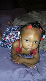 Raniyah Green is seen in a photograph distributed by the LAPD.