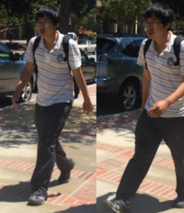 UCLA police provided this photo of a man accused of sexual battery on May 28, 2015.