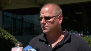 Tim Watson talks after helping to find boy who went missing from Milpitas public library. (Credit: KTXL)