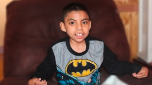 A photo of  9-year-old Giovanni from his GoFundMe.com page.