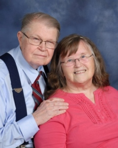 William and Verna Scheiern are shown in a photo provided by Calvary Bible Church.