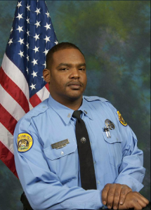 The New Orleans Police Department tweeted this photo of Officer Daryle Holloway after he was shot and killed on June 20, 2015.