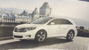 A Toyota Venza compact SUV, similar to the one police are looking for in connection with the Echo Park hit-and-run, is seen in a file photo.