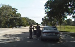 Dashcam video of Sandra Bland's July 10, 2015, arrest was release by the Texas Department of Public Safety on July 21, 2015.