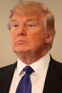 Donald Trump is seen in a file photo. (Credit: Steve Machalek/lCNN)