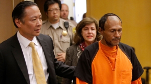 Francisco Sanchez enters court for an arraignment on July 7, 2015 in San Francisco.(Credit: Michael Macor-Pool/Getty Images)
