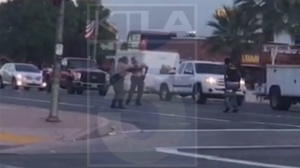 Cellphone video captured the moment when the man was fatally shot by authorities on July 16, 2015.