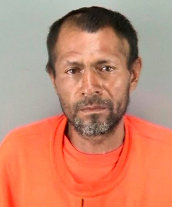 Francisco Sanchez was arrested on suspicion of shooting and killing a young woman in San Francisco on Wednesday night. (Credit: San Francisco Police Department)