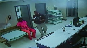 Video released by Waller County officials show Sandra Bland in jail on July 10, 2015.