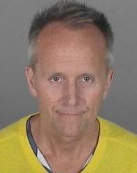Cameron Thor is seen in a booking photo provided by the Los Angeles County Sheriff's Department.